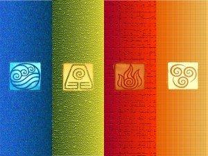 Four Elements of Life avatars